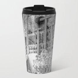 Church Chapel Black & White Travel Mug