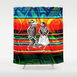 PastPresent Calaveras Shower Curtain