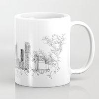 austin Mugs featuring Austin by katarjana