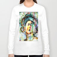 mythology Long Sleeve T-shirts featuring Mythology by Ganech joe