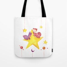 Baby star Tote Bag