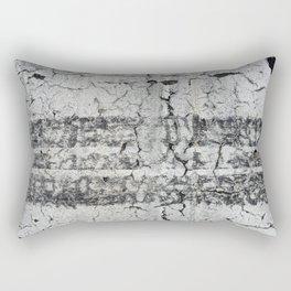 Urban Texture Photography - Road Markings Tire Tracks Rectangular Pillow