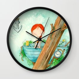 When You Can't Find What You Are Looking For Wall Clock