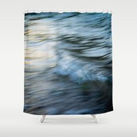 rush Shower Curtains featuring Rush by Create Evoke