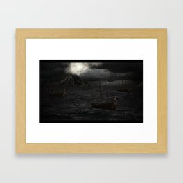 """Calm Waters""  Framed Art Print"