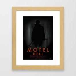 Motel Hell 2012 Hallway 2 Framed Art Print