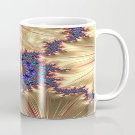 Geometric Landscape with Tender Exclusion Coffee Mug
