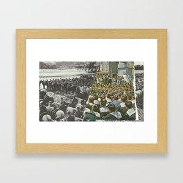 Sun Yat-sen/Mao Framed Art Print