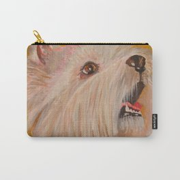 Westhighland White Terrier Portrait Carry-All Pouch