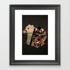 My Dexterous Shadow Framed Art Print