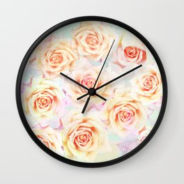I promise you a rose garden Wall Clock
