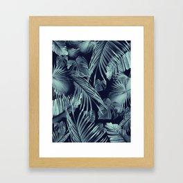 Tropical Jungle Leaves Dream #9 #tropical #decor #art #society6 Framed Art Print