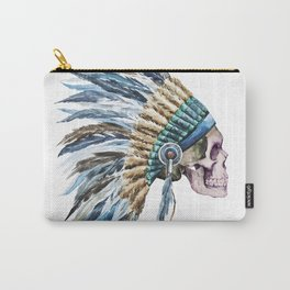 Skull 04 Carry-All Pouch