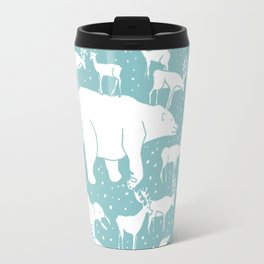 Polar gathering (peppermint) Travel Mug