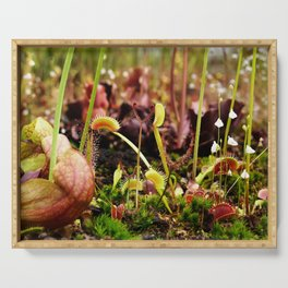 Carnivorous plant #2 Serving Tray