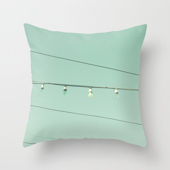 And I will hang my head, hang my head low Throw Pillow