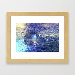 Ewiges Eis Framed Art Print