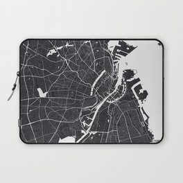 Copenhagen City Map Laptop Sleeve