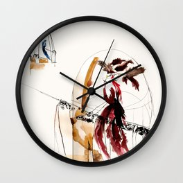 Wise Bird  Wall Clock