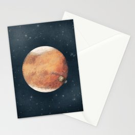 The Red Planet Stationery Cards