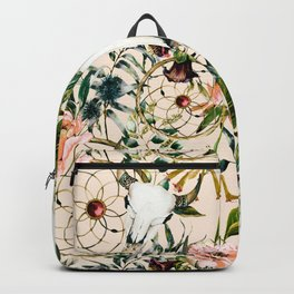 Floral bohemian pattern Backpack