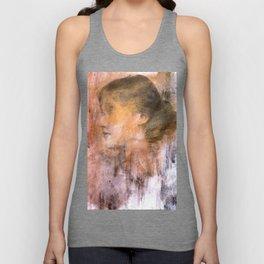 Dead girls: Virginia Woolf Unisex Tank Top