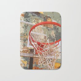 Basketball vs 30 Bath Mat