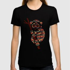 The Pattern Loris LARGE Black Womens Fitted Tee