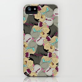 Down the Hatch tessellation iPhone Case