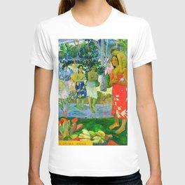 Hail Mary (Ia Orana Maria) (1891) by Paul Gauguin T-shirt