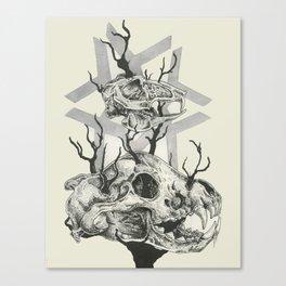 Last breath Canvas Print