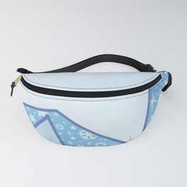 Stars and Snowflakes Fanny Pack