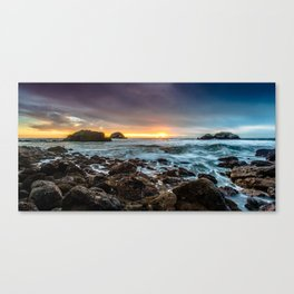 The Heart Rock Canvas Print