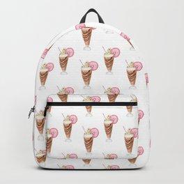 Milkshake and Donut Backpack