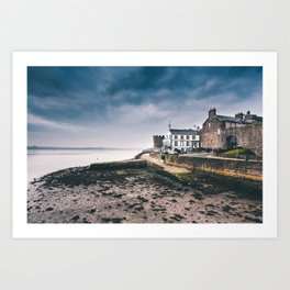 Caernarfon sunset Art Print