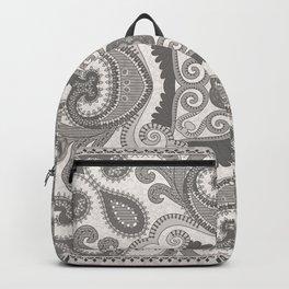 Grey Bizantine Bandana Backpack