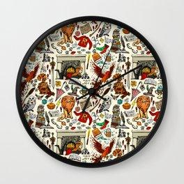 Brave Girl Wall Clock