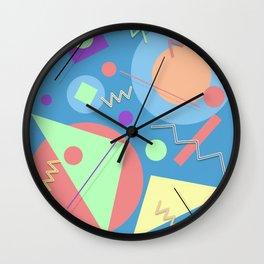 Memphis #49 Wall Clock