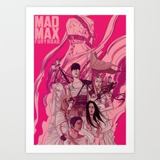Mad Max: Fury Road Art Print