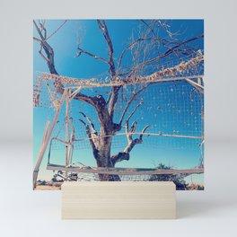 Desert decay Mini Art Print