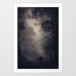 Following Art Print