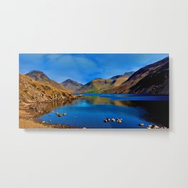 Wastwater English Lake District Metal Print