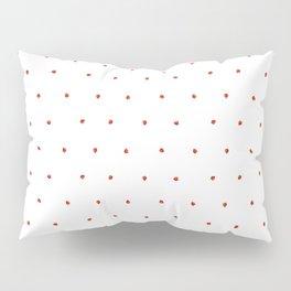 white little strawberry pattern Pillow Sham