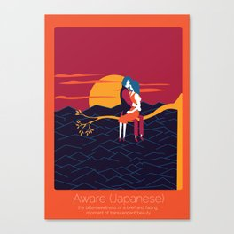 Found In Translation - Aware Canvas Print