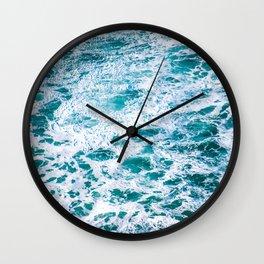 West Coast Sea Foam Wall Clock