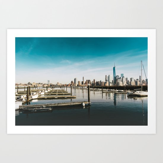 Silent City View - NYC Art Print