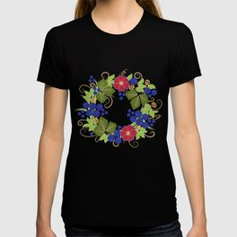 Khokhloma Forest Animals T-shirt