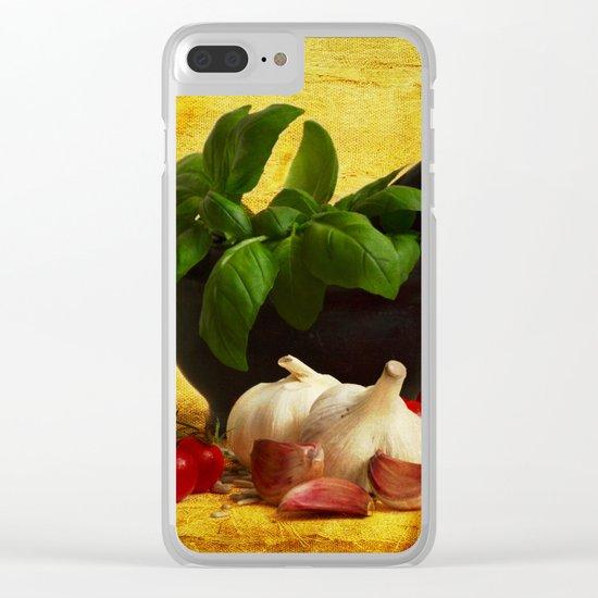 Rustico Clear iPhone Case