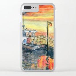 A Delightful Evening Clear iPhone Case