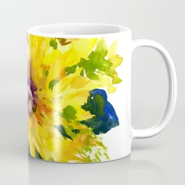 Colors of Summer, Sunflowers, Country style french country design Coffee Mug